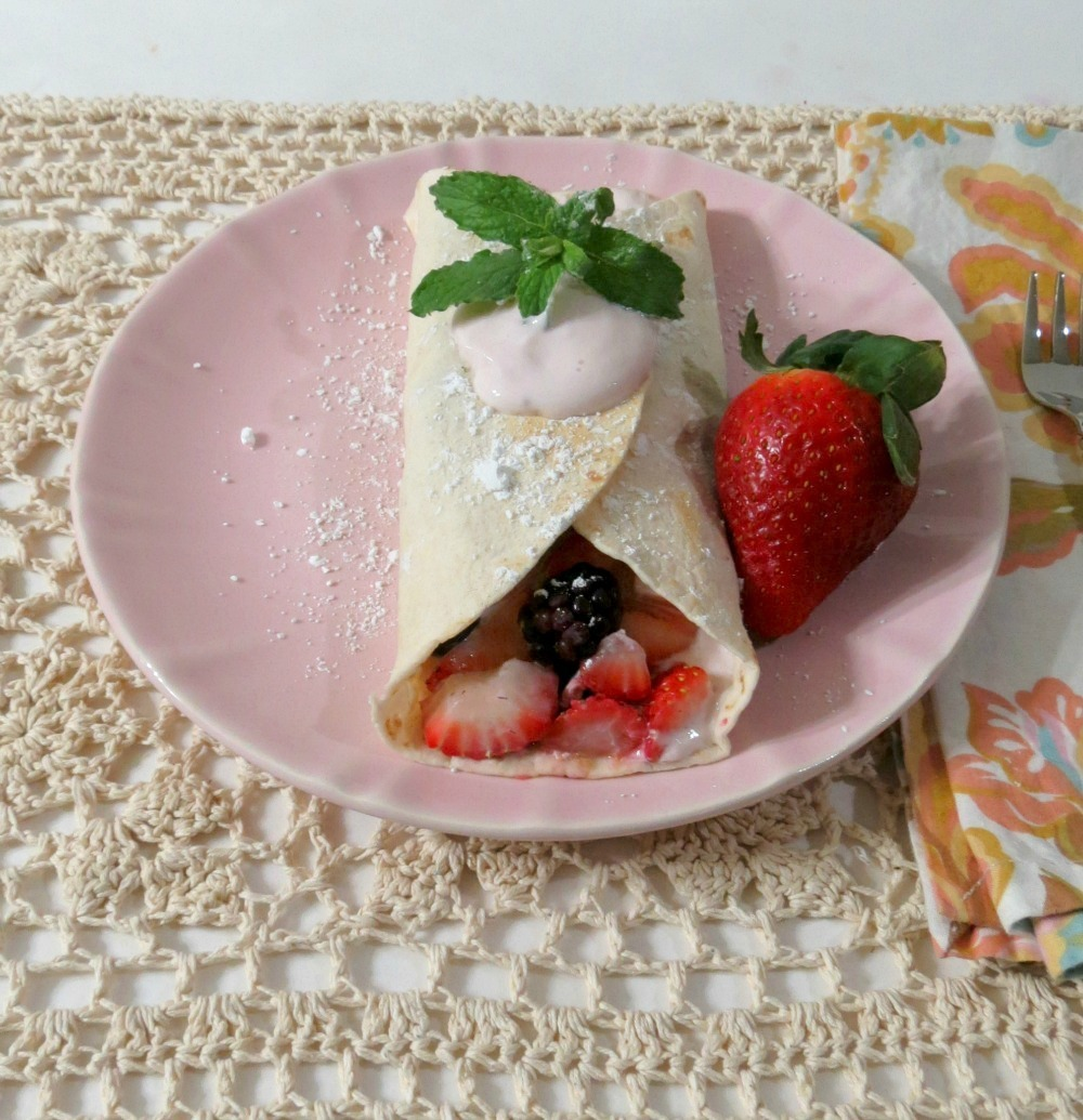Berry Breakfast Taco's