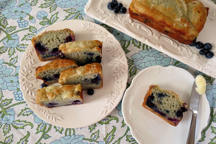Blueberry-Muffin-Bread