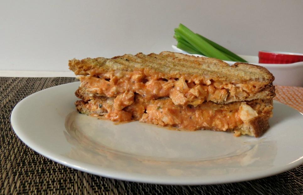 Buffalo Chicken Panini Sandwich