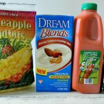 Carrot and Pineapple Smoothie Ingredients