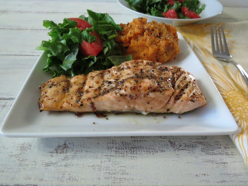 Maple-Mustard Grilled Salmon Recipe — Dishmaps