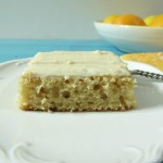 Meyer Lemon Sncak Cake with Lemon Cream Cheese Frosting 045a