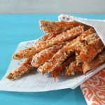 Spicy Breaded Sweet Potato Fries