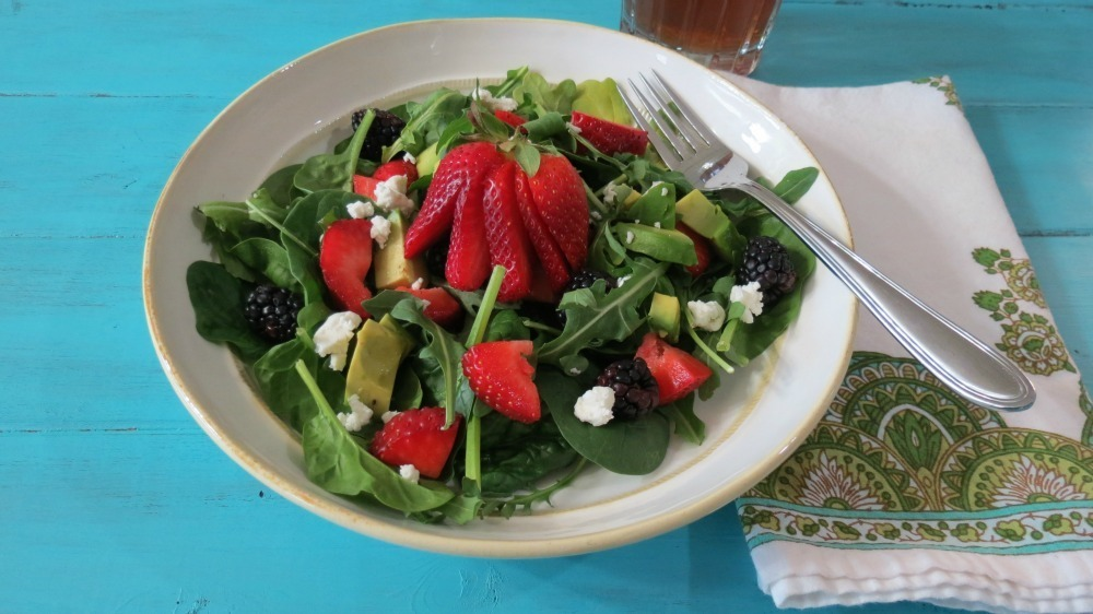 Strawberry and Avocado Salad