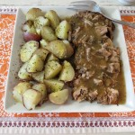 Prk Tenderloin with Savory Apple Gravy 023a