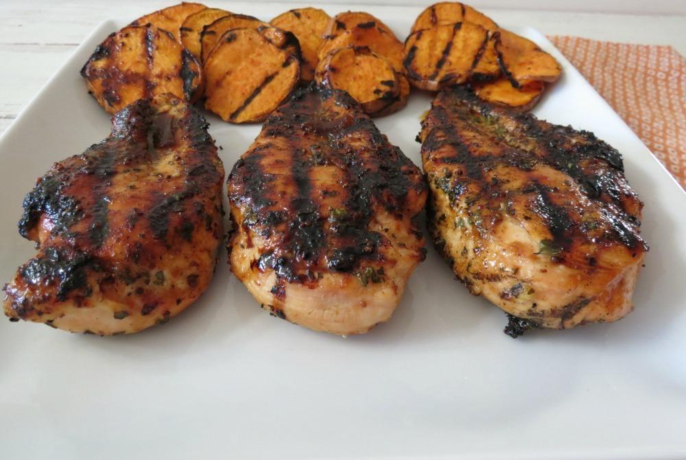 Chipotle-Honey Glazed Chicken