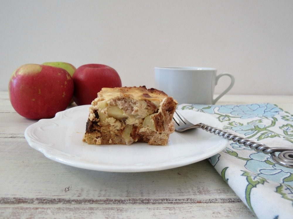 Cinnamon and Apple Baked French Toast
