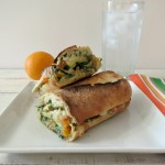 Lemon Pesto Zucchini Hot Sandwich