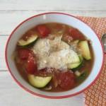Minestrone Soup #SundaySupper