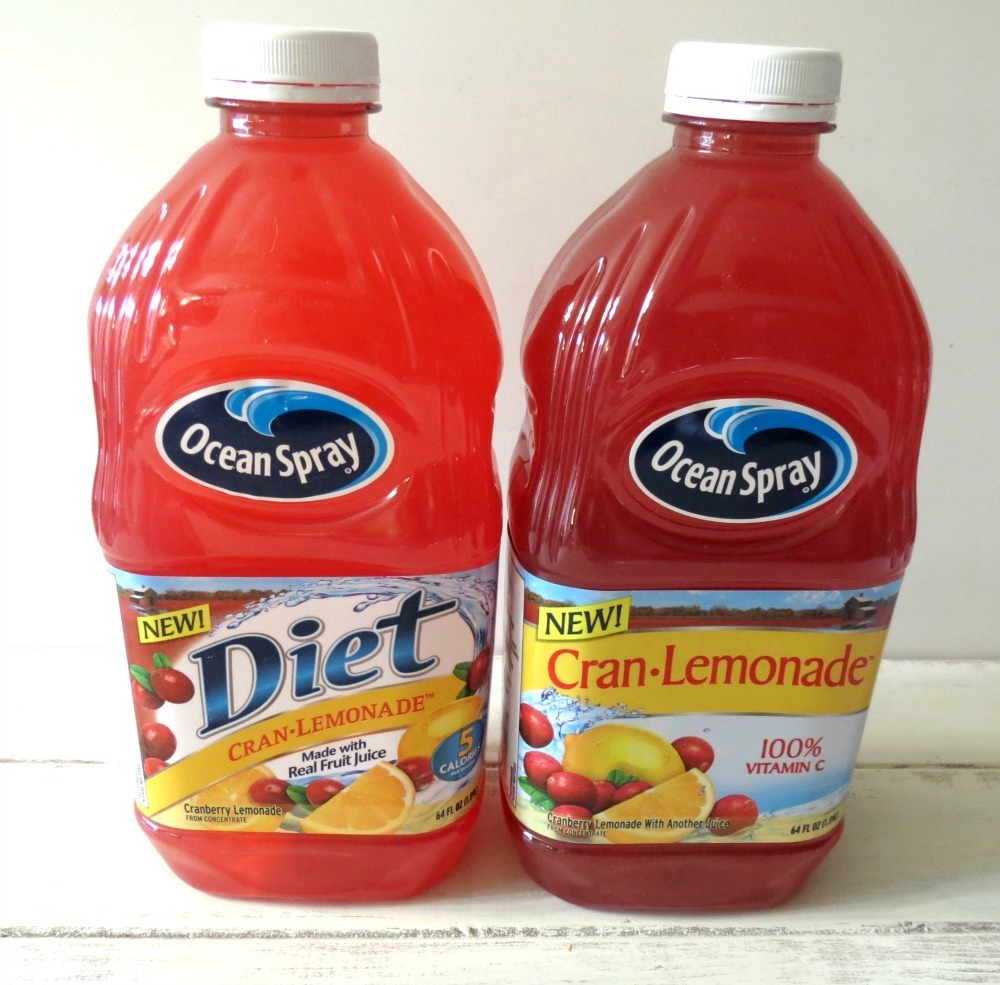 Ocean Spray Cranberry Lemoande