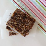 No Bake Granola Bars / Weekly Recap