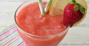 Strawberry Lemonade Frappe 005a