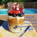 PB&P Breakfast Jar Parfait