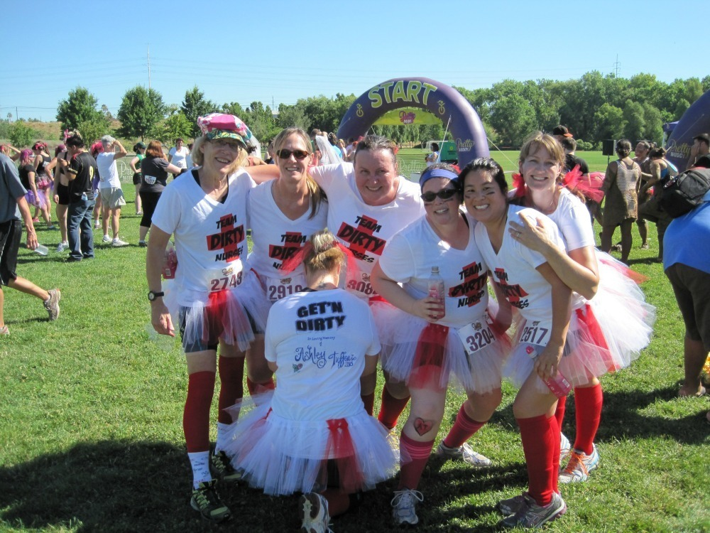 Pretty Muddy Dirty Nurses