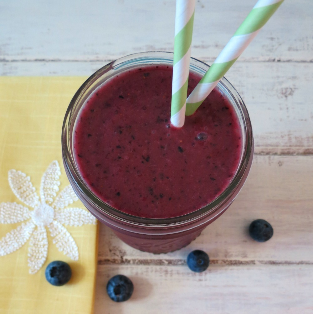 Blueberry Banana Acai Smoothie