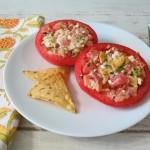Feta Stuffed Tomatoe