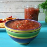 Fire Grilled Salsa #SundaySupper