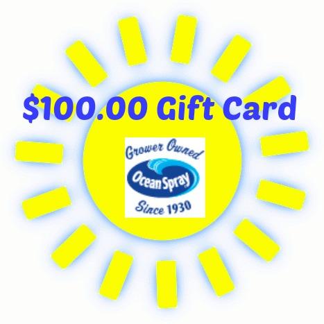 Ocean Spray Giveaway