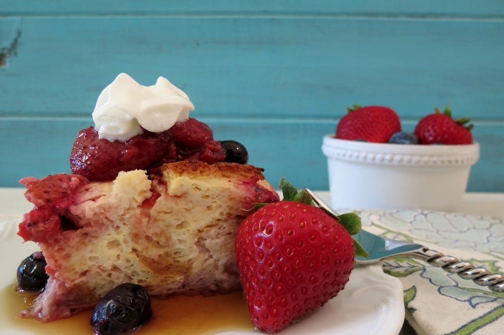 Berrylicious Overnight French Toast