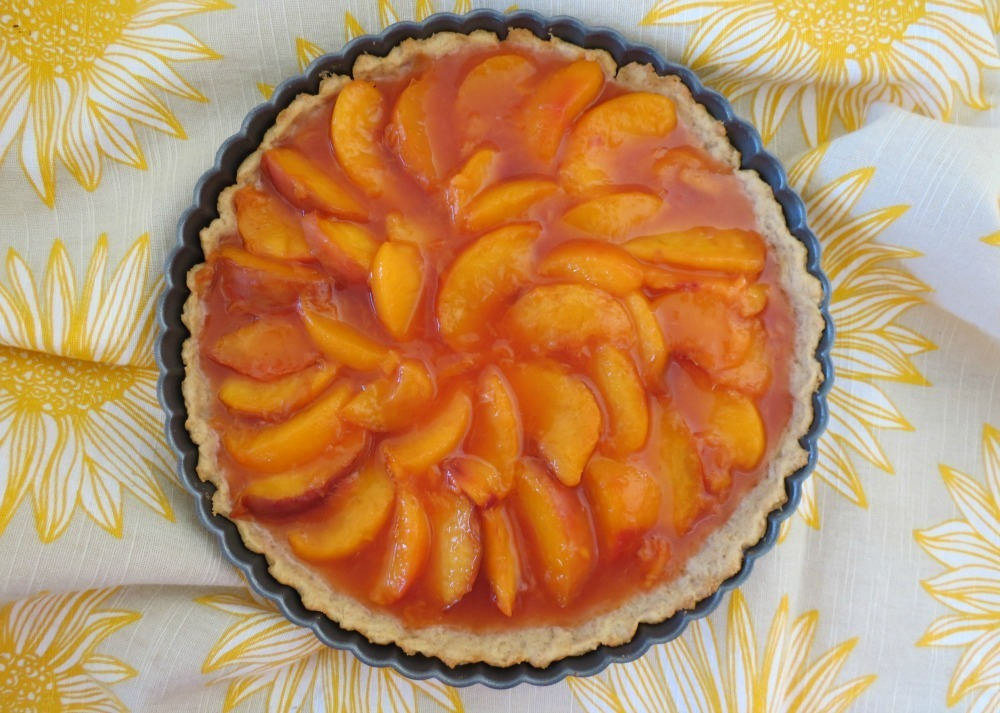 Peach Tart | Peanut Butter and Peppers