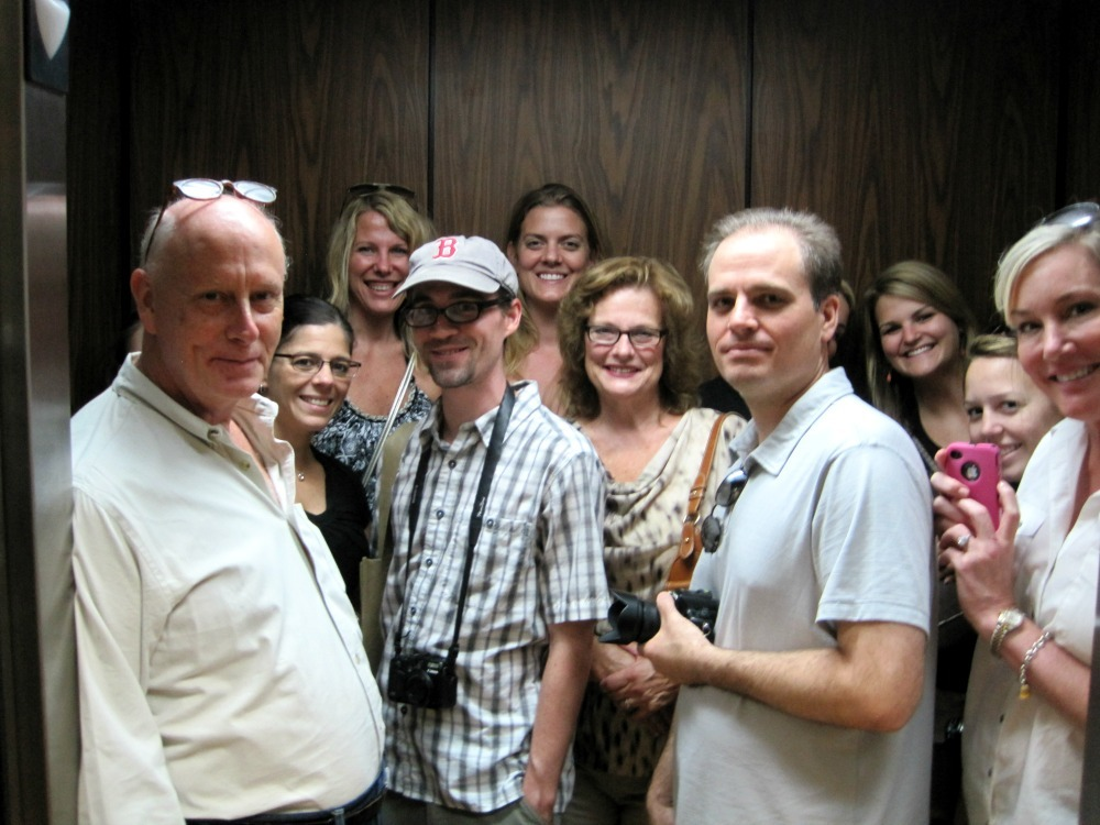 Bloggers in the Elevator
