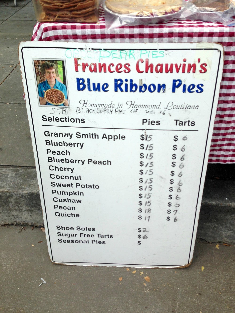 Frances Chauvins Blue Robbon Pies