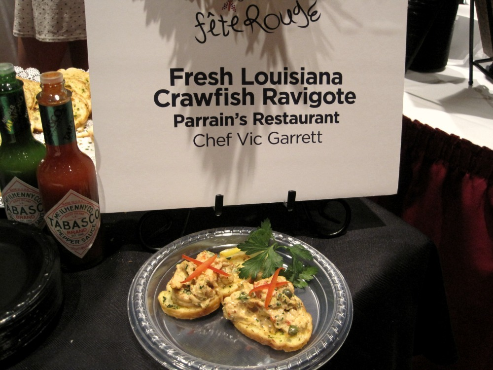 Fresh Louisana Crawfish Ravigote