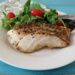 Grilled Lemon Pepper Cod #SRC
