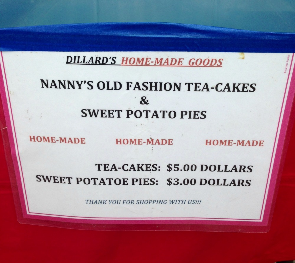 Nanny's Old Fashion Tea Cakes and Sweet Potato Pies