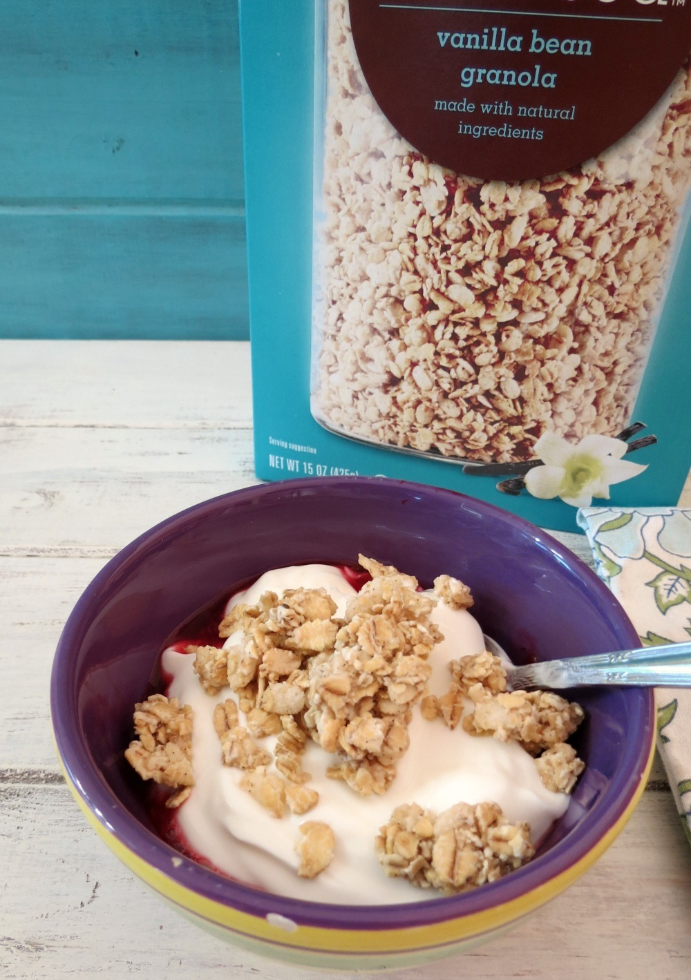 Yogurt with Simply Balanced Vanilla Bean Granola