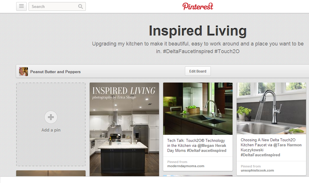 Pintrest Page