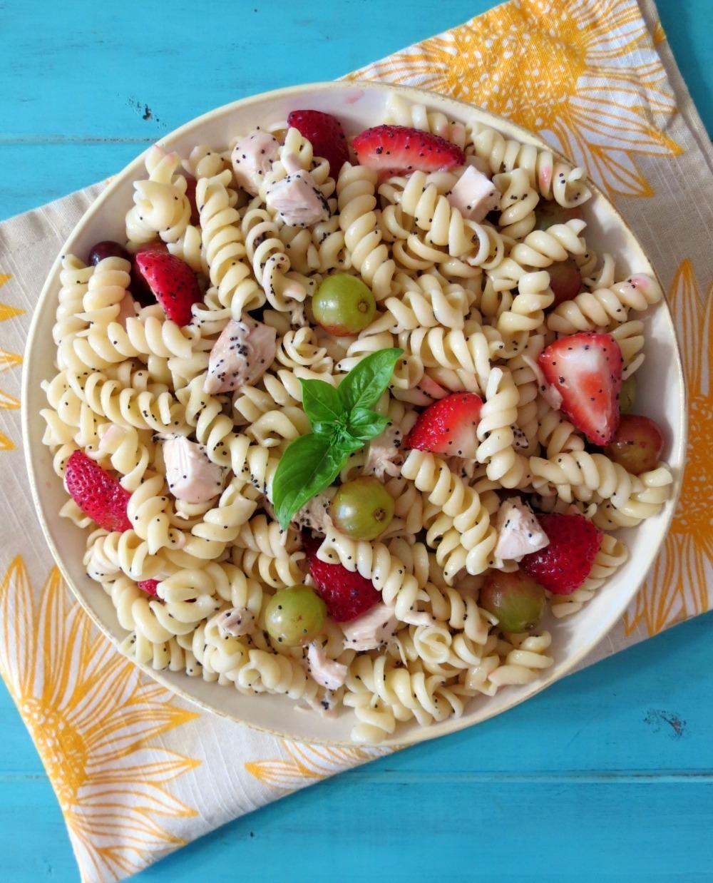 chicken pasta salad with chicken pasta salad with chicken pasta salad ...