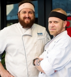 Chef Jay Ducote and Chef Wadsworth