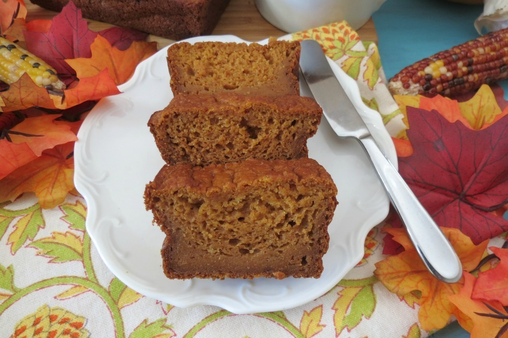 Pumpkin Bread (Egg-less)