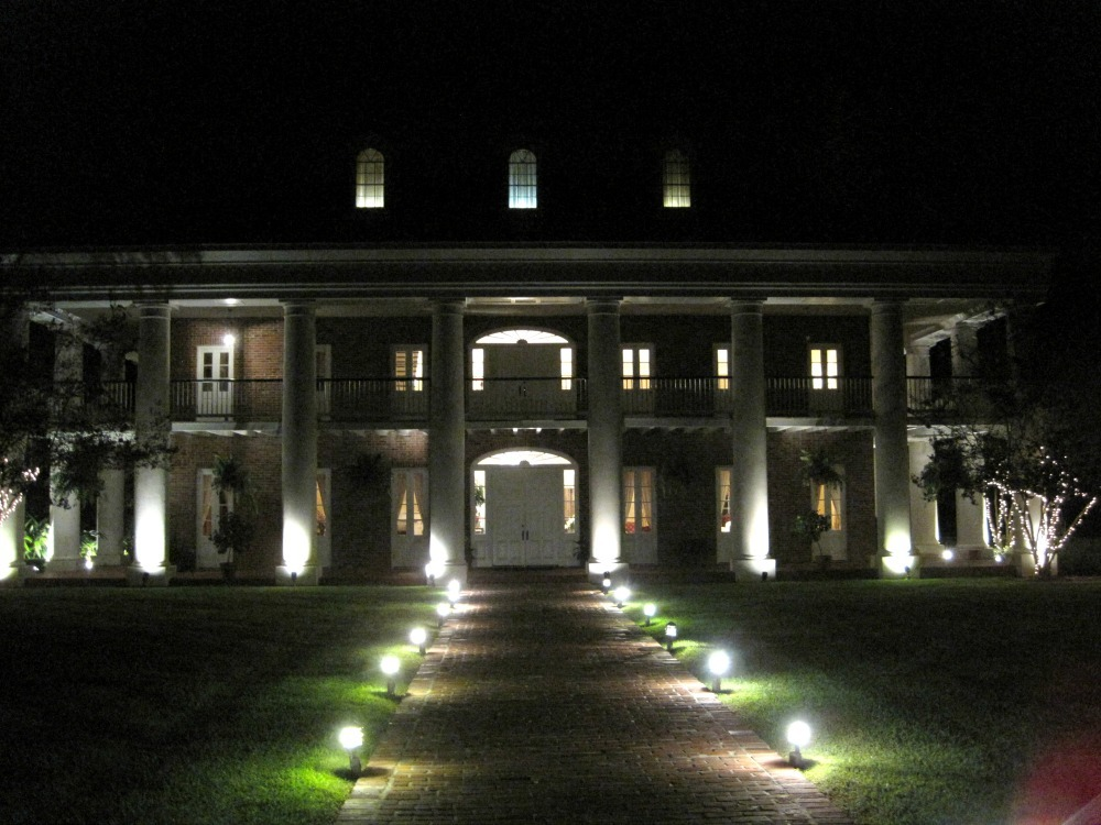 White Oak Plantation in the Evening