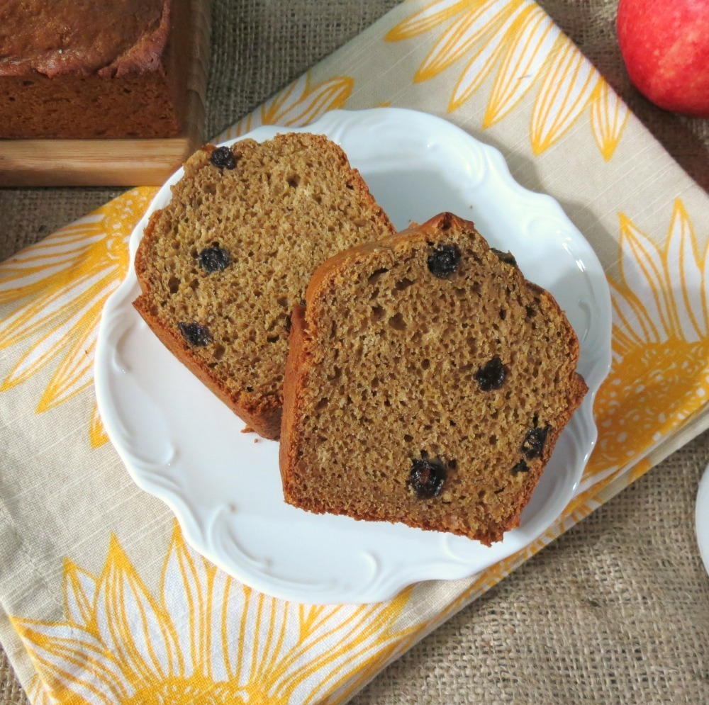 Apple Butter Raisin Bread