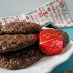 Christmas Chocolate Drops #DoveDark