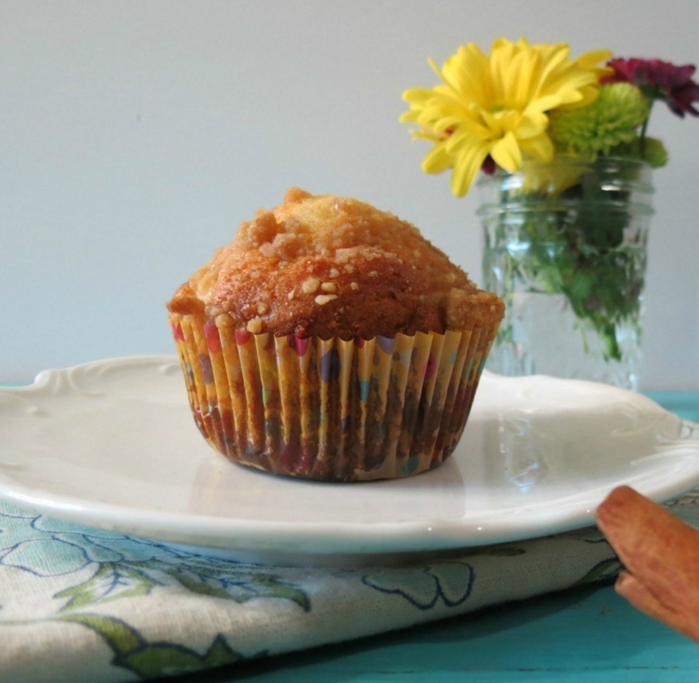 Pear Crumble Muffins