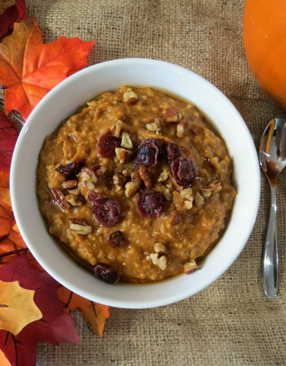 ... pumpkin oatmeal in a crockpot have you ever made oatmeal in a crockpot