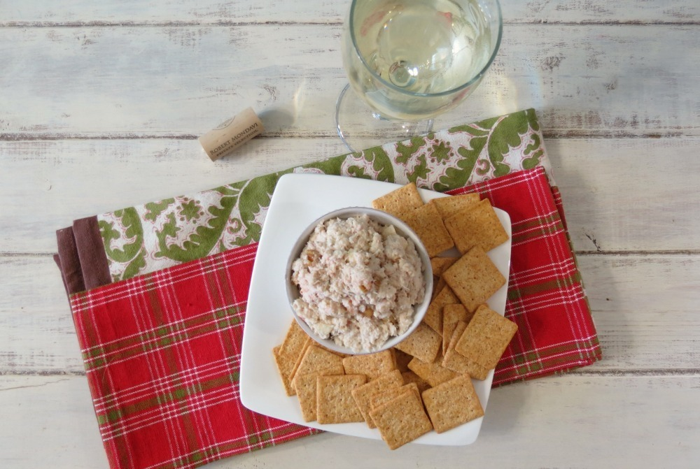 Apple & Walnut Crab Dip