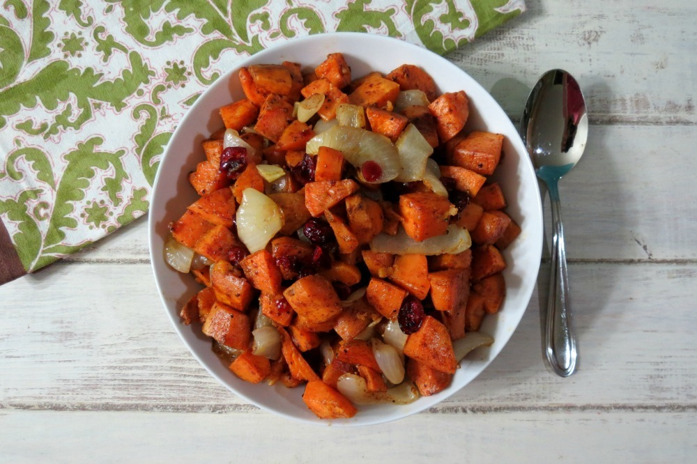 Honey and Cinnamon Glazed Sweet Potatoes