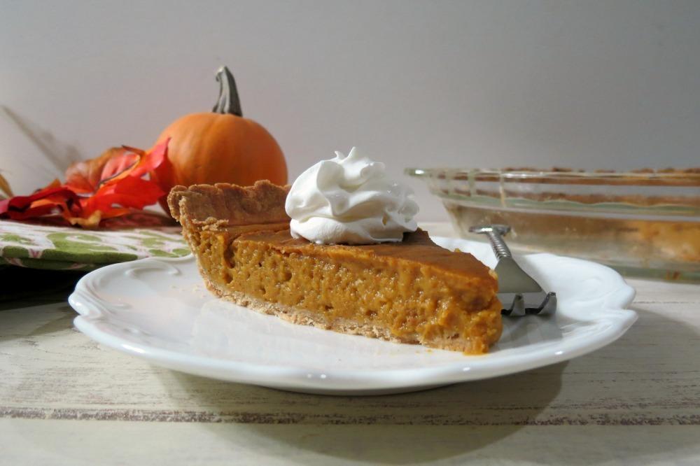 Pumpkin Pie (Dairy Free)