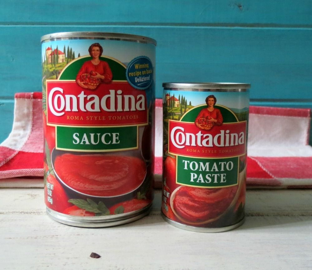Cantadina Tomato Sauce and Tomato Paste #CleanPlate