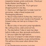 Thanksgiving Tips, Tricks and Help