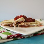 Turkey Cranberry Fiesta Quesadilla / Giveaway
