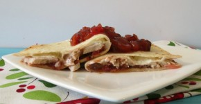 Turkey and Cranberry Fiesta Quesadilla