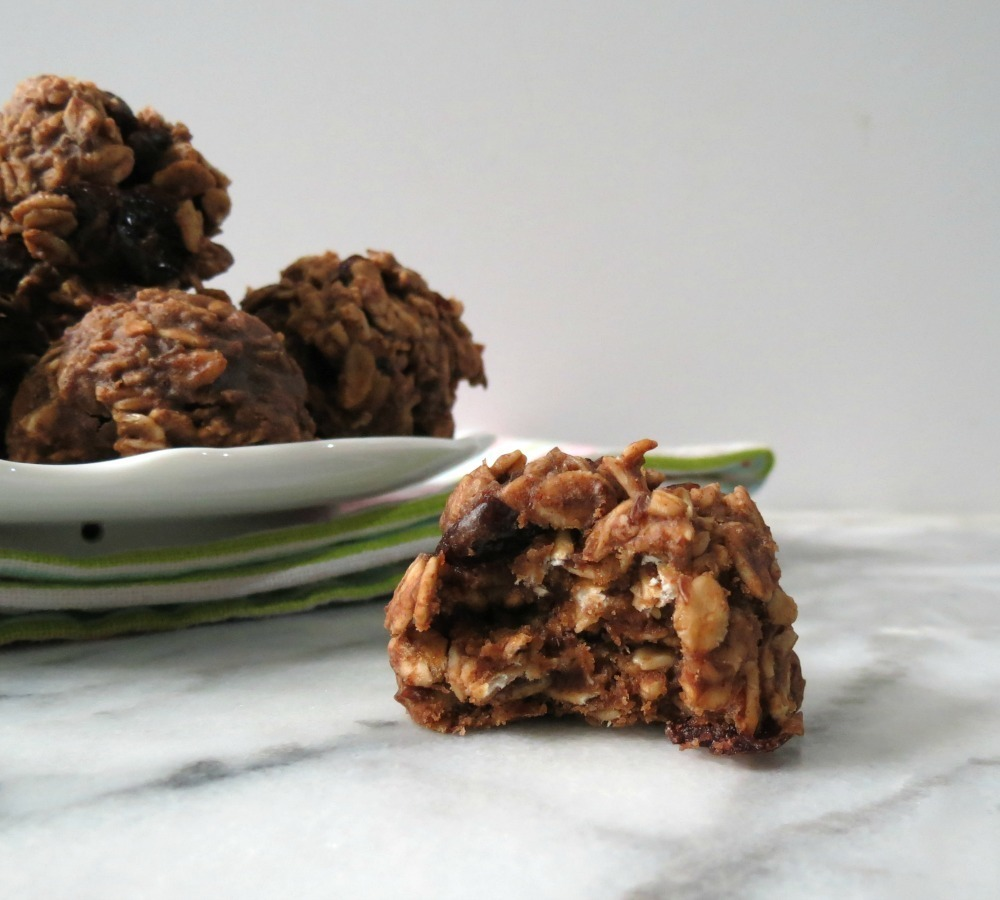 Chocolate Almond Cranberry Breakfast Cookie
