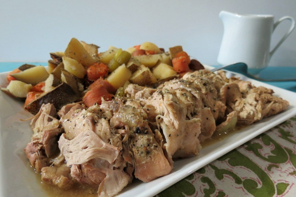 Italian Pork Tenderloin With Potatoes Carrots Crockpot