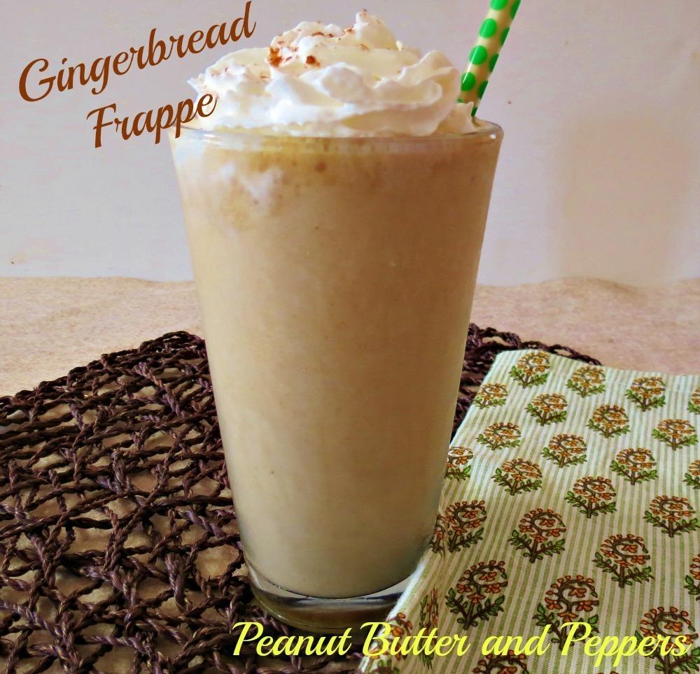Skinny Gingerbread Frappe
