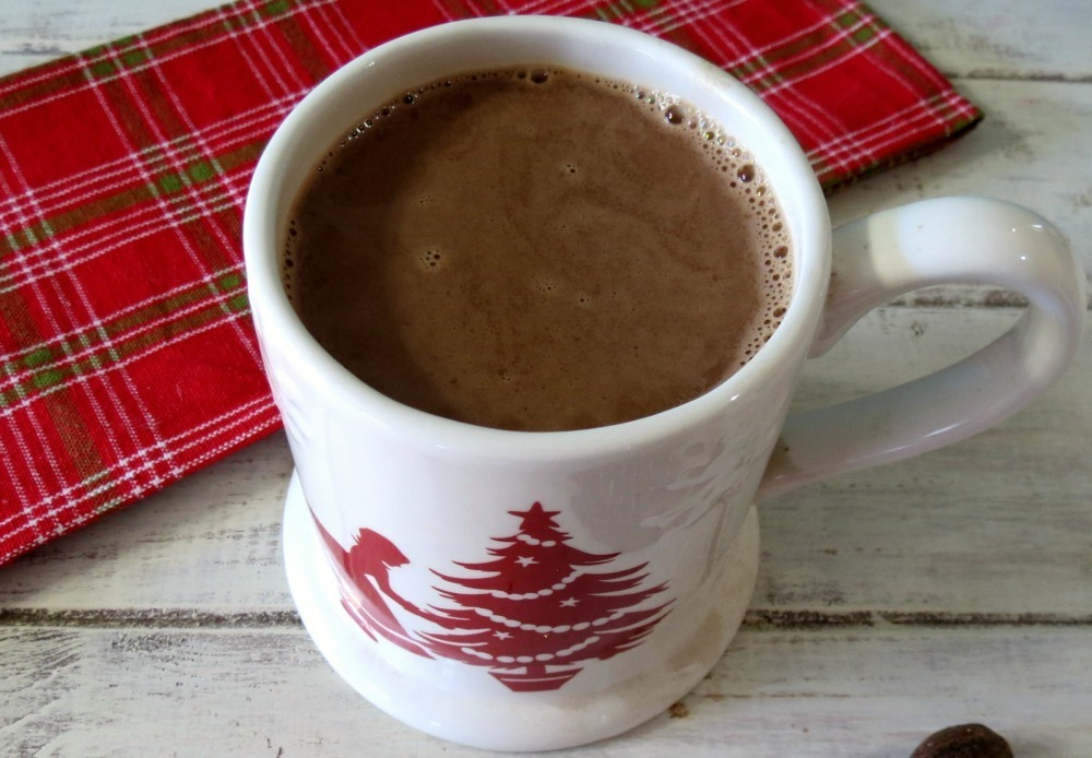 Eggnog Hot Chocolate #SundaySupper | Peanut Butter and Peppers